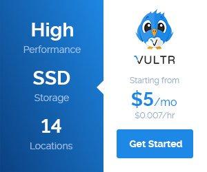 Vultr 高性能 VPS $5/月